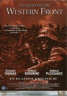 All Quiet on the Western Front - Swedish Movie Cover (xs thumbnail)