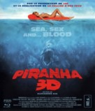 Piranha - French Blu-Ray movie cover (xs thumbnail)
