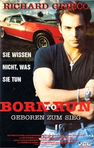 Born to Run - German VHS movie cover (xs thumbnail)