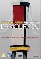 Yves Saint Laurent - L'amour fou - British DVD cover (xs thumbnail)
