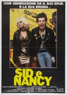 Sid and Nancy - Italian Movie Poster (xs thumbnail)