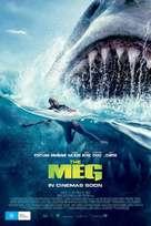 The Meg - Australian Movie Poster (xs thumbnail)