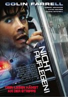 Phone Booth - German Movie Poster (xs thumbnail)