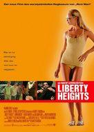 Liberty Heights - German Movie Poster (xs thumbnail)