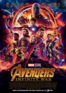 Avengers: Infinity War - Swedish Movie Poster (xs thumbnail)
