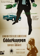 Never Let Go - Danish Movie Poster (xs thumbnail)