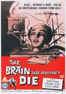 The Brain That Wouldn't Die - British DVD movie cover (xs thumbnail)