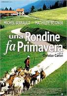 Une hirondelle a fait le printemps - Italian Movie Poster (xs thumbnail)