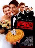 American Wedding - Portuguese Movie Poster (xs thumbnail)
