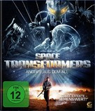 Iron Invader - German Blu-Ray cover (xs thumbnail)