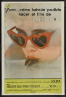 Lolita - Argentinian Movie Poster (xs thumbnail)