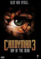 Candyman: Day of the Dead - German Movie Cover (xs thumbnail)