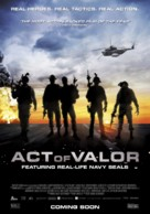 Act of Valor - Dutch Movie Poster (xs thumbnail)
