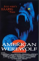 An American Werewolf in Paris - German VHS movie cover (xs thumbnail)