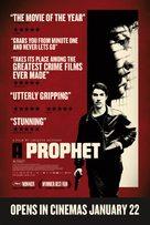 Un prophète - British Movie Poster (xs thumbnail)