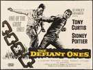 The Defiant Ones - British Movie Poster (xs thumbnail)