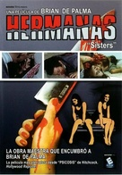 Sisters - Spanish DVD movie cover (xs thumbnail)