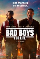 Bad Boys for Life - Swedish Movie Poster (xs thumbnail)