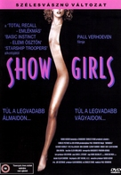 Showgirls - Hungarian DVD movie cover (xs thumbnail)
