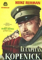 Hauptmann von Köpenick, Der - Spanish Movie Poster (xs thumbnail)