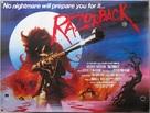 Razorback - British Movie Poster (xs thumbnail)