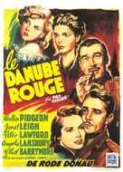 The Red Danube - Belgian Movie Poster (xs thumbnail)