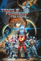 The Transformers: The Movie - DVD cover (xs thumbnail)
