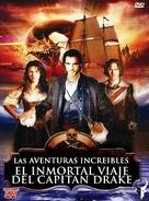 The Immortal Voyage of Captain Drake - Spanish DVD cover (xs thumbnail)
