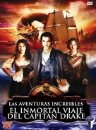 The Immortal Voyage of Captain Drake - Spanish DVD movie cover (xs thumbnail)