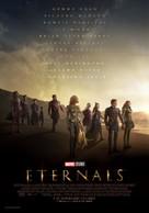 Eternals - Spanish Movie Poster (xs thumbnail)