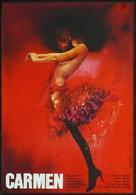 Carmen - Czech Movie Poster (xs thumbnail)