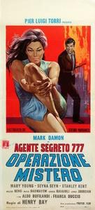 Agente segreto 777 - Operazione Mistero - Italian Movie Poster (xs thumbnail)
