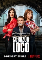 Corazón loco - Spanish Movie Poster (xs thumbnail)