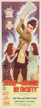 Jiggs and Maggie in Society - Movie Poster (xs thumbnail)