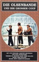 Olsen-bandens store kup - German Movie Poster (xs thumbnail)