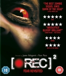 [Rec] 2 - British Blu-Ray movie cover (xs thumbnail)