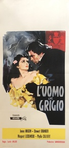 The Man in Grey - Italian Movie Poster (xs thumbnail)