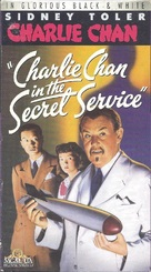 Charlie Chan in the Secret Service - VHS movie cover (xs thumbnail)
