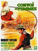 Westward the Women - French Movie Poster (xs thumbnail)