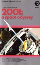2001: A Space Odyssey - British VHS movie cover (xs thumbnail)