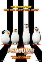 Penguins of Madagascar - Malaysian Movie Poster (xs thumbnail)