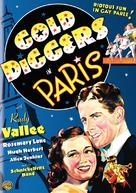 Gold Diggers in Paris - DVD movie cover (xs thumbnail)