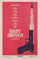 Baby Driver - Teaser movie poster (xs thumbnail)