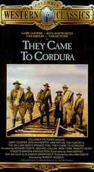They Came to Cordura - VHS cover (xs thumbnail)