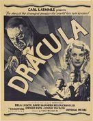 Dracula - Theatrical poster (xs thumbnail)
