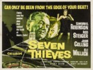 Seven Thieves - British Movie Poster (xs thumbnail)