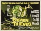 Seven Thieves - British Movie Poster (xs thumbnail)