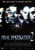 Final Destination 2 - Italian Theatrical movie poster (xs thumbnail)