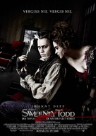 Sweeney Todd: The Demon Barber of Fleet Street - German Movie Poster (xs thumbnail)