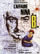 L'affaire Nina B. - French Movie Poster (xs thumbnail)